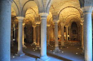 Abadia San Salvatore - La cripta 1280